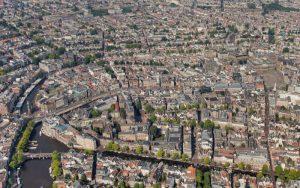 Sfeerbeeld van gebouwen in Amsterdam