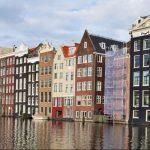 Sfeerbeeld van Nederlandse grachtenpanden